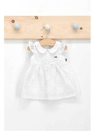 U.S. Polo Assn. U.S. Polo Assn Elbise  Beyaz